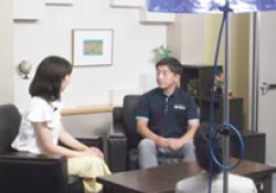 RKK熊本放送の情報番組「ウエルカム」に出演しました