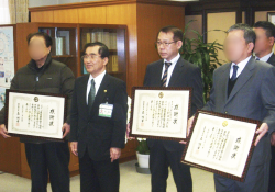 南日本新聞に鹿児島市より感謝状贈呈式の記事が掲載されました